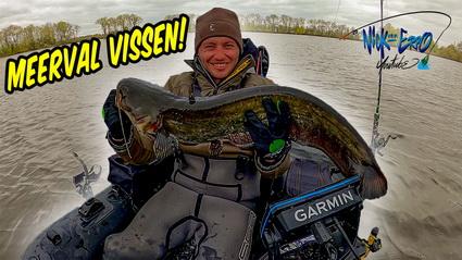 Nieuwe video Vissen op meerval van uit de bellyboat!