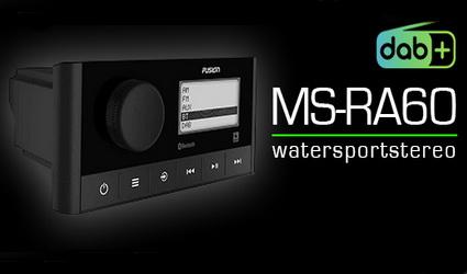 De nieuwe watersport stereo FUSION MS-RA60