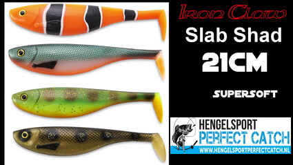 Slab Shad en Moby Softbaits bij Hengelsport Perfect Catch.