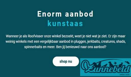 Alles voor de Roofvisser bij Zunnebeld.