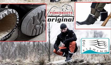 Nieuw bij Mac Fishing de Thermo PowerBoots uit Zweden!