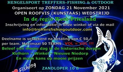 Inschrijving Open StreetFishing voor Teams Treffers Hengelsport.