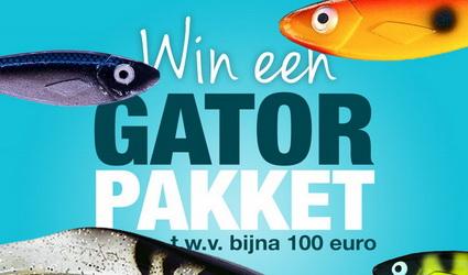 Win een Gator pakket t.w.v. 100 euro!